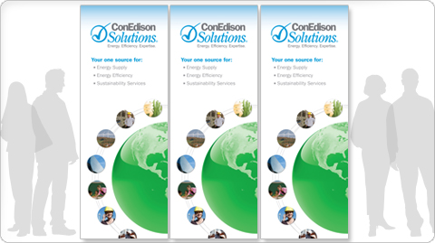 ConEdison Solutions Trade Show Graphics