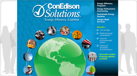 ConEdison Solutions Trade Show Wall