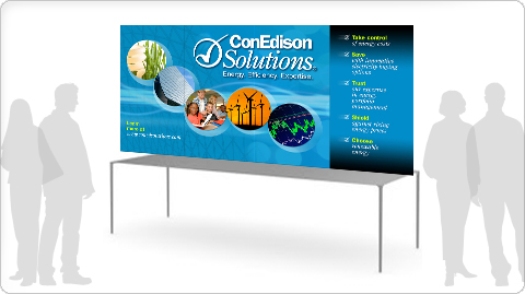ConEdison Solutions Tabletop Trade Show Graphics